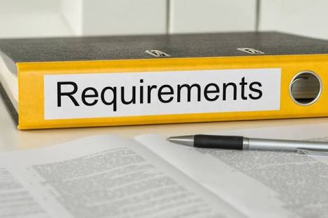 Requirements for 2019/2020 registration